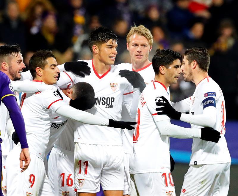 Con un gol de Banega, Sevilla pasó a semifinales — Copa del Rey