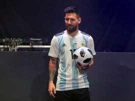 Muñoz elogió a Messi, pero aseguró que no puede ganar el Mundial él solo. EFE