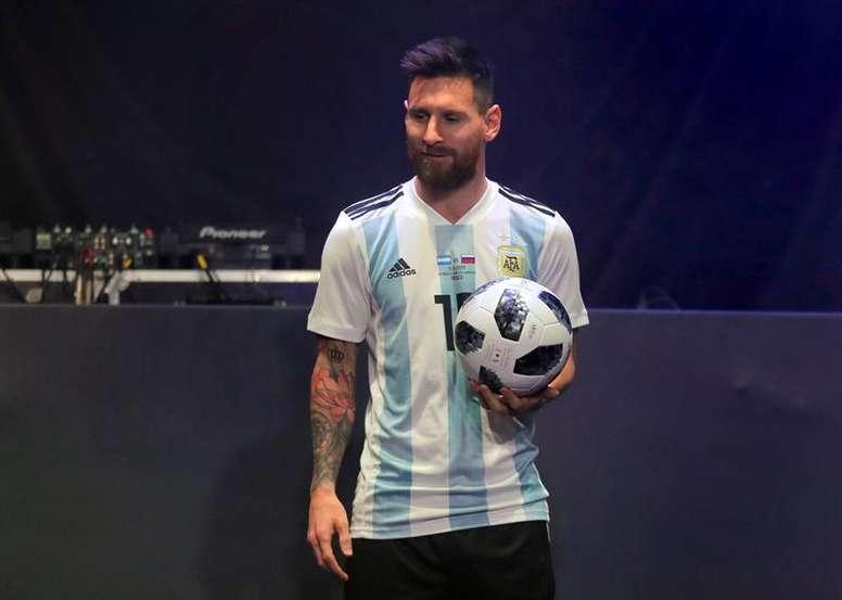 Lineker, rendido a Messi. EFE