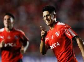 L'Independiente ne veut pas perdre son joueur. EFE