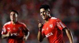 Independiente viajará a Brasil con un gol de ventaja. EFE