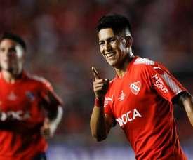 Independiente festejó ante Racing tras la definición en la tanda de penaltis. EFE