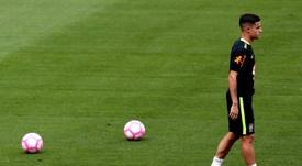 Coutinho devrait être 'blaugrana' en janvier. EFE