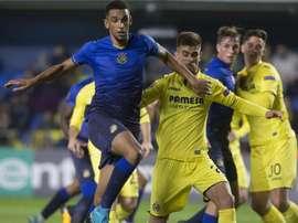Blackman marcó el único gol del encuentro. EFE