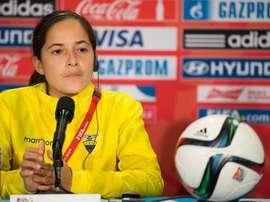 Vanessa Arauz aseguró que pelearán por uno de los dos cupos para el Mundial de Francia. EFE