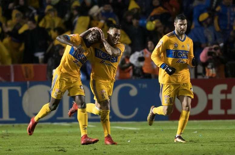 Tigres espera reforzarse con la llegada de un delantero. EFE