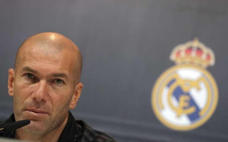 Zidane a parlé 'cash'. EFE