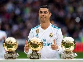 Cristiano casi equiparó las conquistas de Messi. EFE