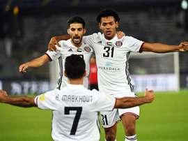 Al Jazira también ganó 1-0 al Urawa Red Diamonds. EFE