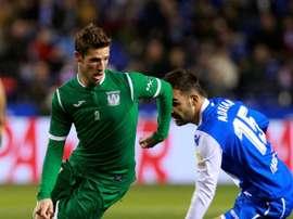 Adrián marcou o único gol da partida. EFE