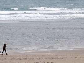 Se avecina un temporal que azotará las costas gallegas. EFE