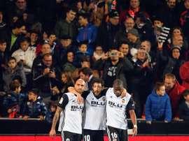 Valencia regressou às vitórias. EFE