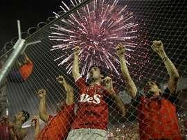 Independiente ya está en Japón. EFE