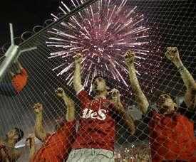 Independiente se llevó los tres puntos ante Arsenal de Sarandí. EFE/Archivo