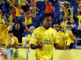 Rémy estaría cerca de cambiar Las Palmas por Getafe. EFE