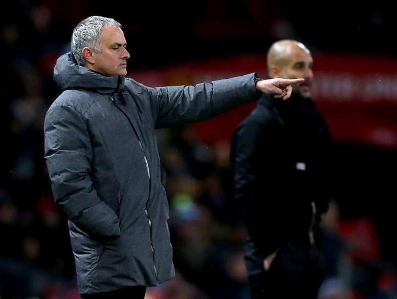 Mourinho manda um recado para o City de Guardiola. EFE