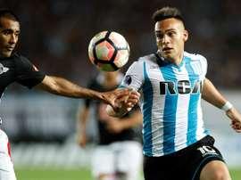 Milito a conseillé Lautaro de miser sur l'Inter. EFE