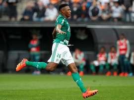 Palmeiras a déjà trouvé le remplaçant de Yerry Mina ! EFE