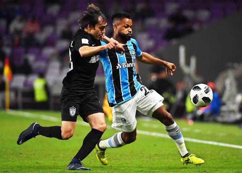 Gremio are in the final of the Club World Cup. EFE