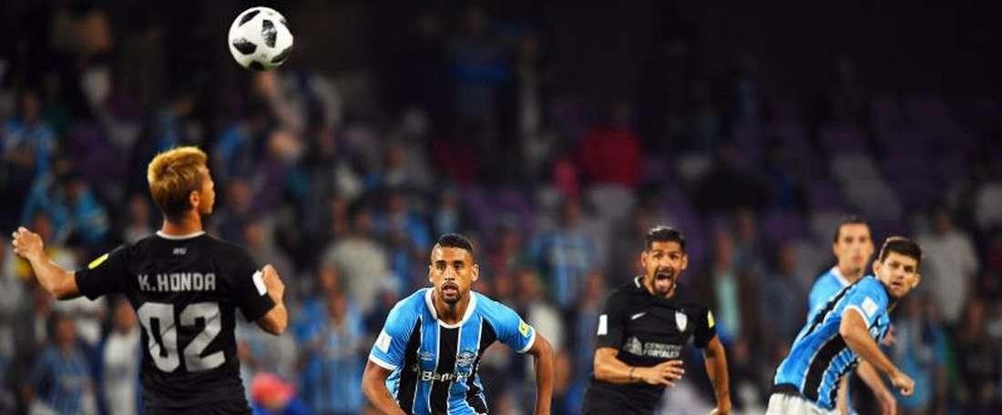 Pachuca se impuso por tres goles a Lobos. EFE