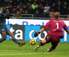 Karamoh marcou o segund gol. EFE