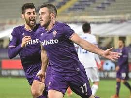 El Milan quiere reforzarse con Veretout. EFE