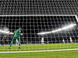 El Madrid no pudo batir legalmente a Ali Khaseif. EFE