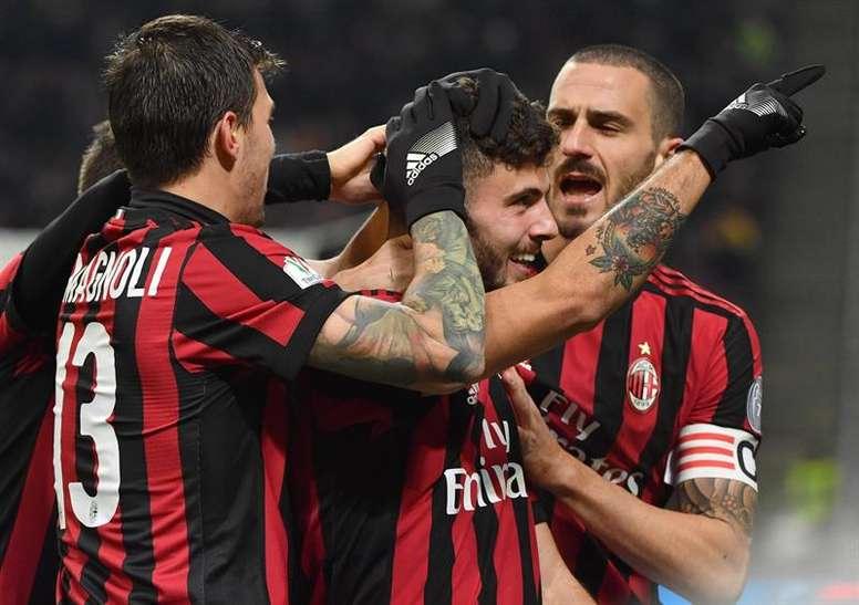 El Milan venció sin excesivos problemas al Hellas. EFE