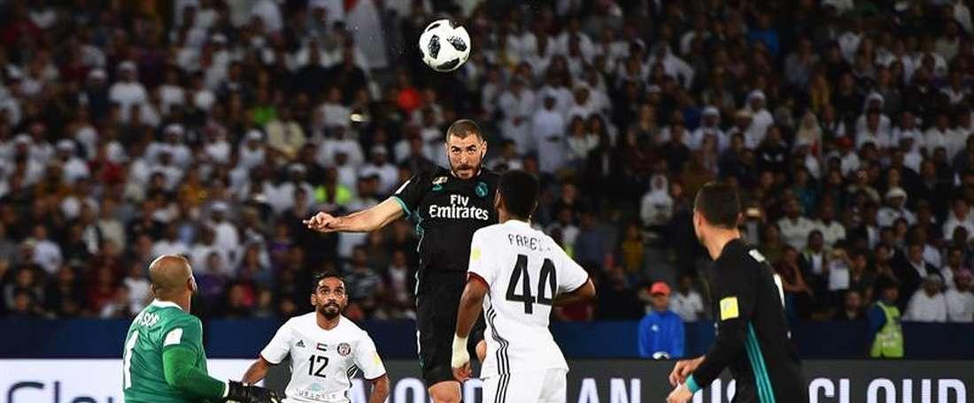 Benzema n'aura pas su tromper Ali Khaseif. EFE