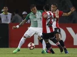 Atlético Nacional ha sido uno de los equipos con mejor defensa en Sudamérica. EFE/Archivo