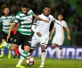 Alan Ruíz já mostrou a sua insatisfação ao Sporting CP.EFE