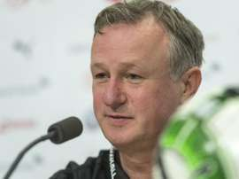 Michael O'Neill wants to turn Northern Ireland form into wins. EFE
