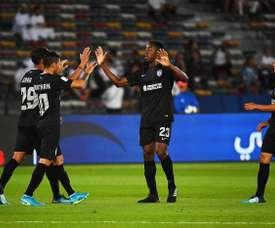 O Pachuca bateu o Al Jazira por 1-4. AFP