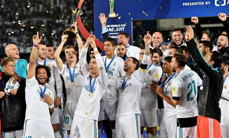 ZIdane continue son bon parcours au sein du Real Madrid. EFE