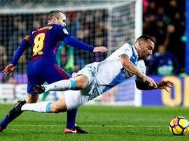 Deportivo e Barça, adversários neste domingo. EFE
