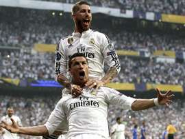 Le XI idéal des joueurs qui ont le plus joué avec Cristiano. EFE
