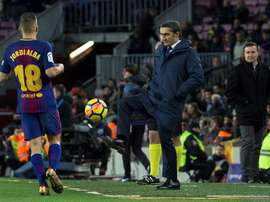Valverde looks set to give Aleña and Arnaiz chances to shine. EFE