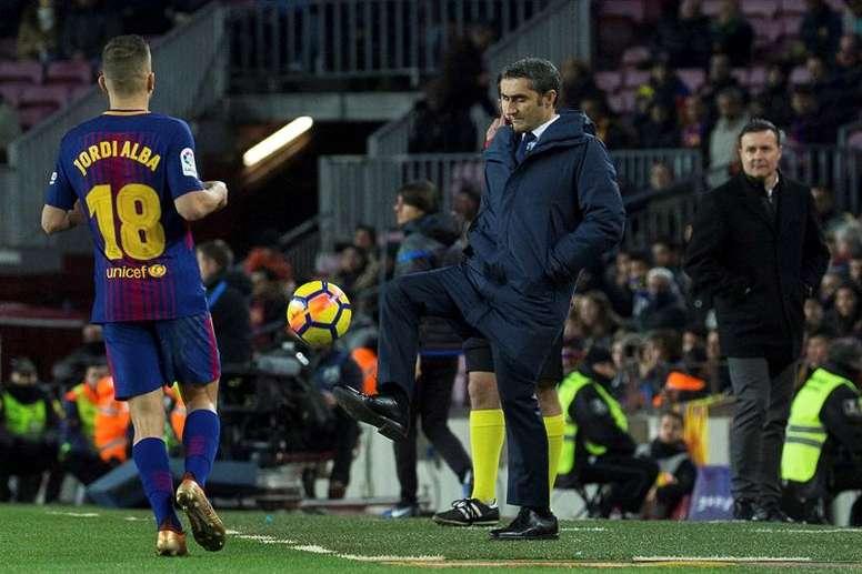 El Barça quiere vencer por fin en Anoeta. EFE