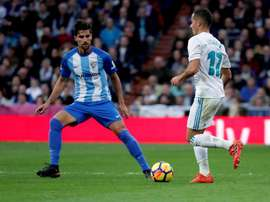 Malaga and Madrid face off at La Rosaleda on Sunday. EFE/Archive
