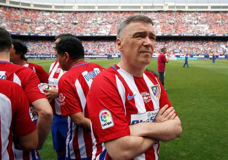 Pantic se mostró dolido con el Atlético. EFE/Archivo