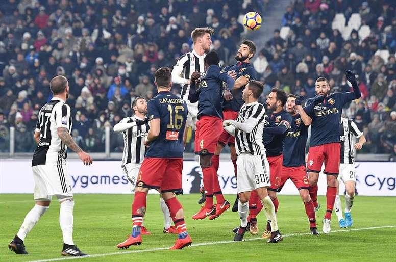 La Juventus se rend samedi à Vérone pour affronter le Hellas. AFP