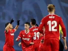 El equipo hispalense se interesa en el '9' italiano. EFE