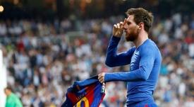Messi sera à Bernabéu pour la grande finale. EFE