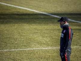 El Atlético observa a un futbolista portugués de 17 años. EFE