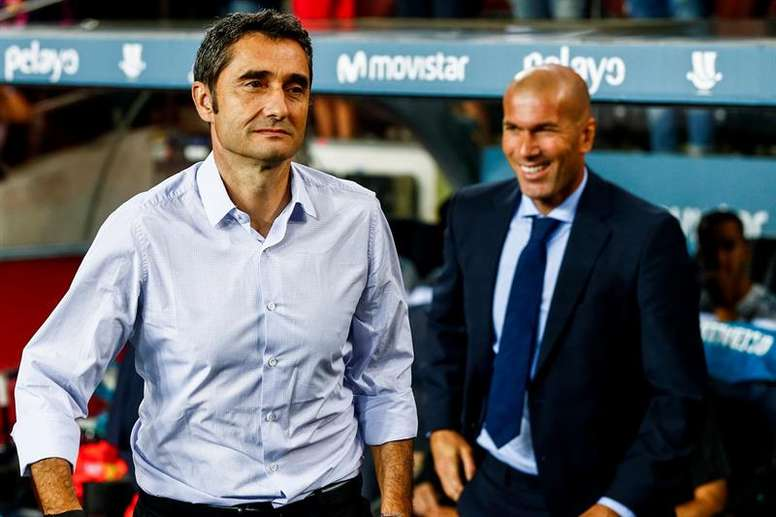 Which manager will come out on top in this one? EFE/Archivo