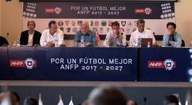 La ANFP tomó la decisión de ayudar a su fútbol. EFE/Archivo
