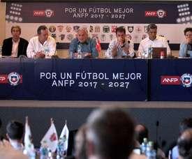 El acuerdo es para los próximos 15 años. EFE/ANFP/Carlos Parra