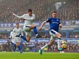 Everton a recalé une grosse offre pour Keane cet hiver. EFE