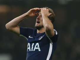 Kane couldn't find the winner as Spurs drew 1-1 with Southampton. EFE/EPA/Archivo