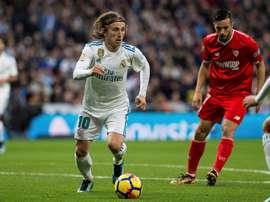 Modric occupe la 76ème place de notre classement basé sur les statistiques. EFE